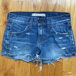 J Brand Girls Distressed Shorts